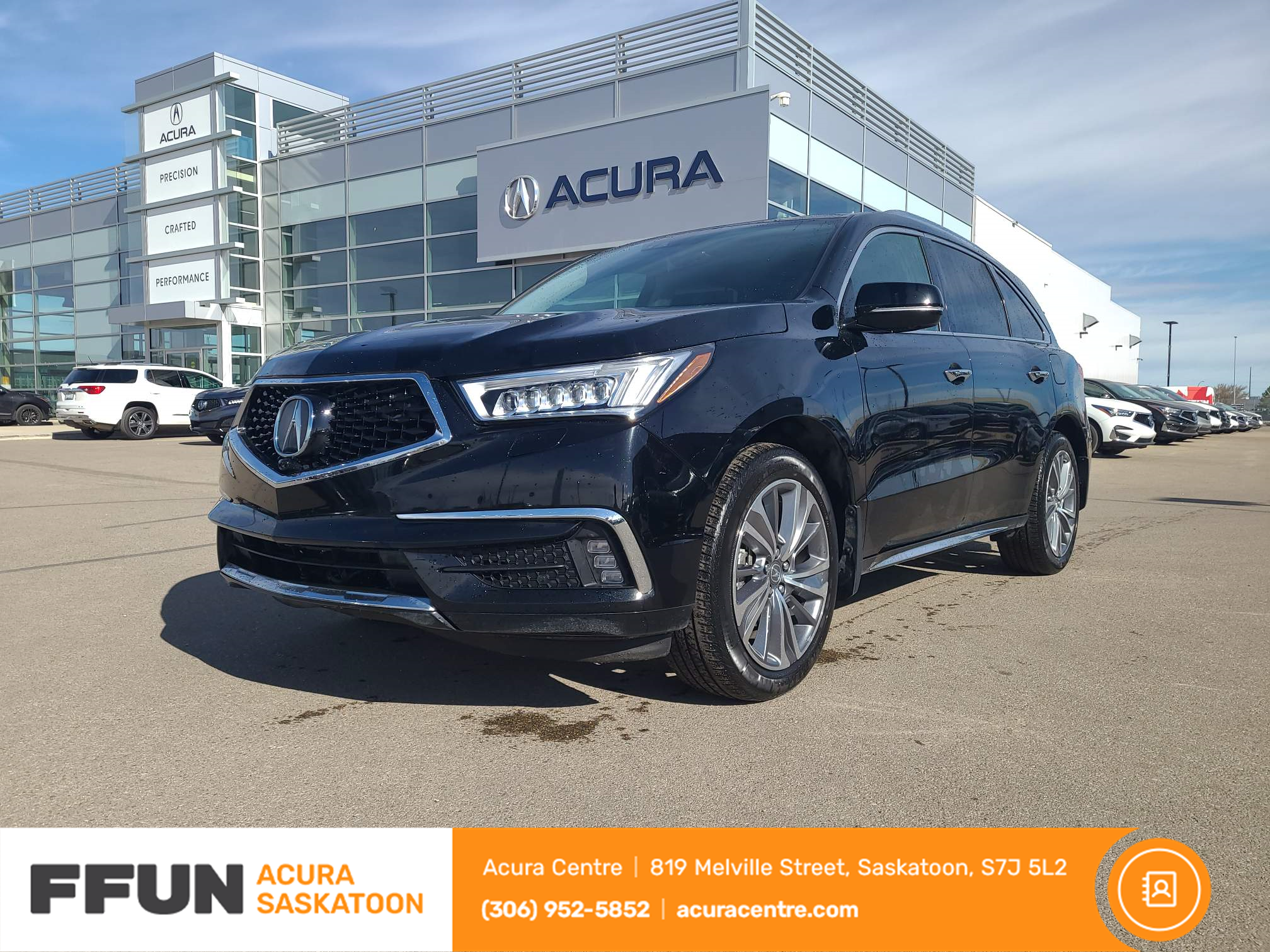 used 2017 Acura MDX car, priced at $34,537