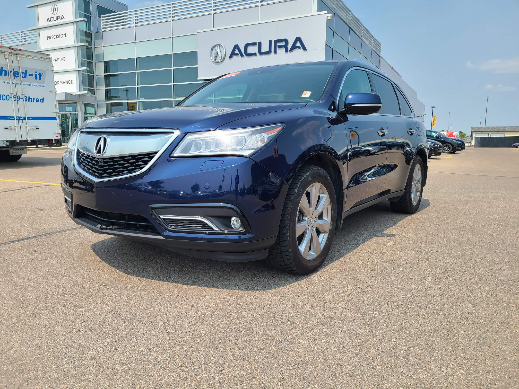 used 2016 Acura MDX car, priced at $32,599
