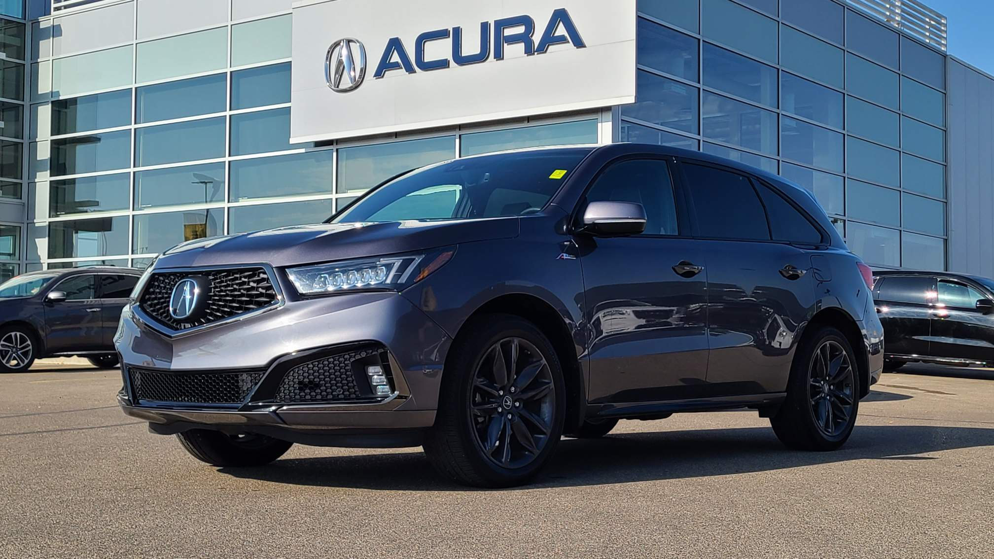 used 2019 Acura MDX car, priced at $51,810