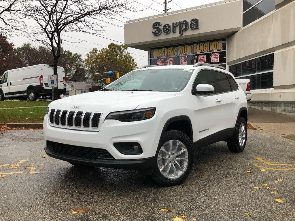 new 2020 Jeep Cherokee car, priced at $40,794