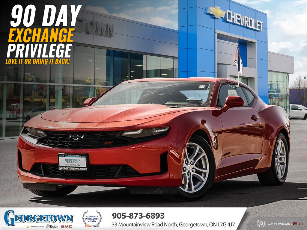 used 2019 Chevrolet Camaro car, priced at $28,898