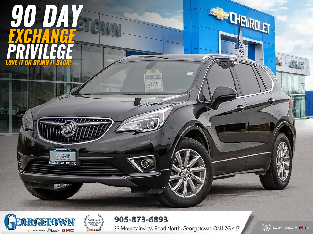 used 2019 Buick Envision car, priced at $27,898