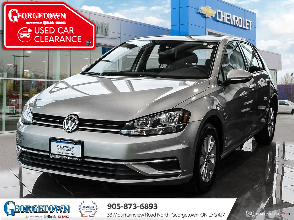 used 2019 Volkswagen Golf car, priced at $16,998