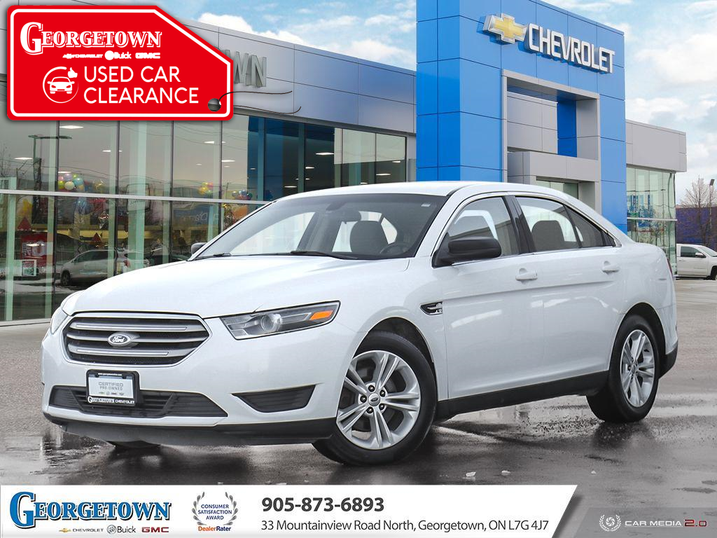 used 2015 Ford Taurus car, priced at $10,898