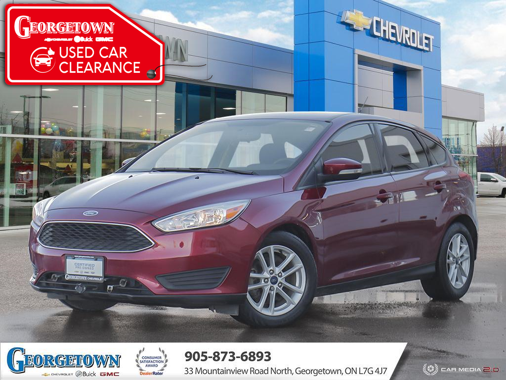 used 2017 Ford Focus car, priced at $12,898