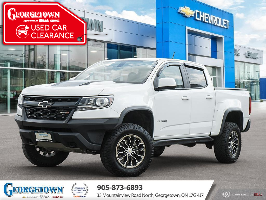 used 2019 Chevrolet Colorado car, priced at $43,898