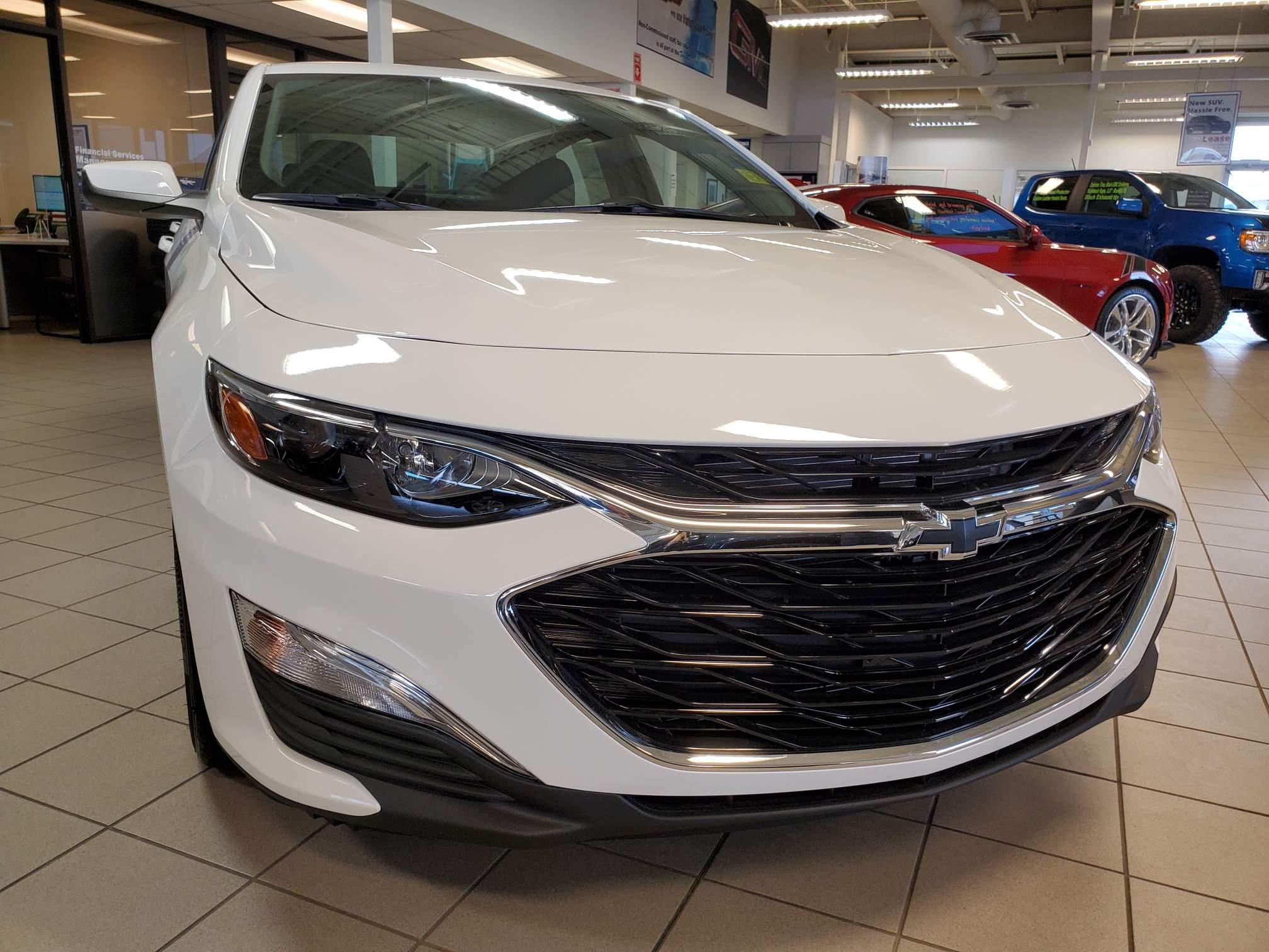 new 2021 Chevrolet Malibu car, priced at $24,678