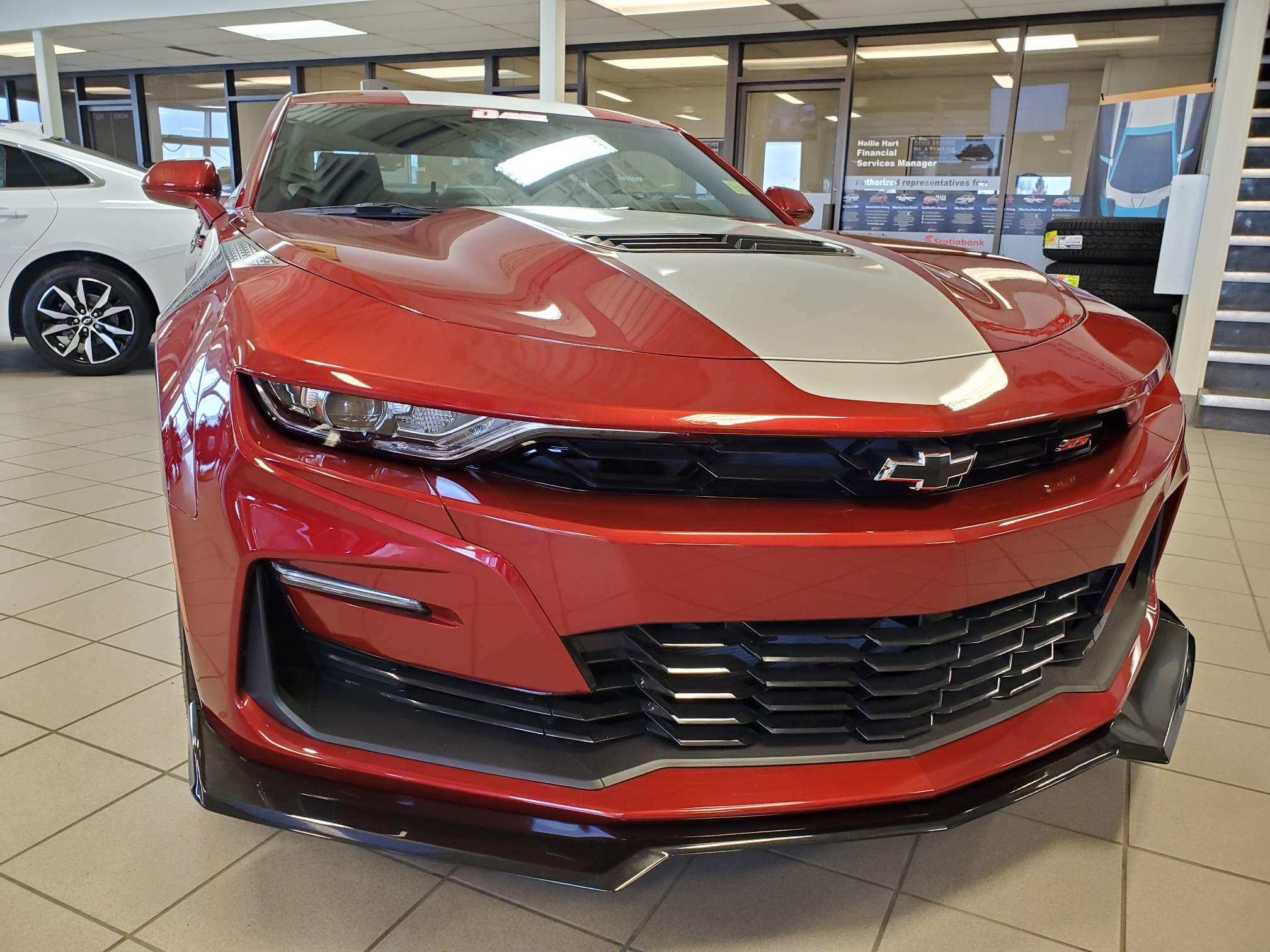 new 2021 Chevrolet Camaro car, priced at $60,098